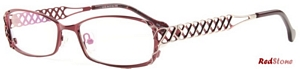 This elaborately crafted pair of womens frames by RedStone