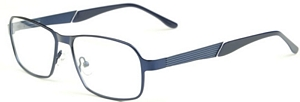 These matt blue spectacles are breath of fresh air with