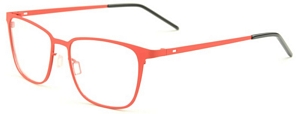 The mat red color may seem alien for a pair of spectacles