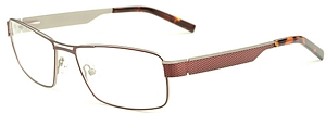 Look smart and sophisticated in these mat wine red frames