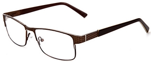 Appear as the picture of sophistication in these brown and