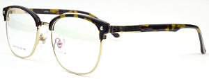 With these acetate and metal combination reading glasses