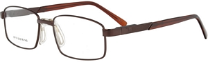 Look Cool in these sexy brown prescription glasses