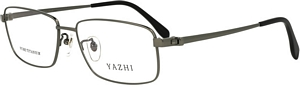 TITANIUM Gun Metal Optical Frames - Ideal for allergy