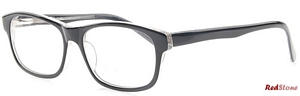 These stylish frames by RedStone come in black and crystal
