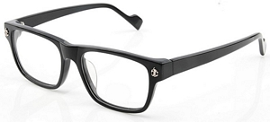 These Shiny black acetate frames are straight off the