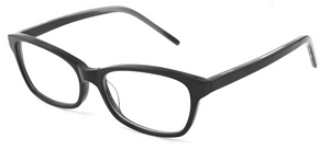 These acetate frames are lightweight and comfortable to