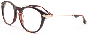 This pair is a striking tortoise brown colour and sports a