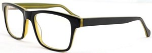 Light weight stylish and black and translucent mustard