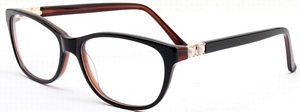 Check out these gorgeous black and brown reading glasses