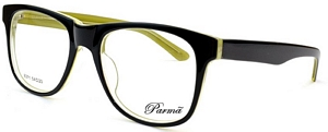 Look your best in these black and green prescription