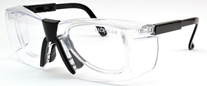 Safety Protective Prescription glasses totally clear for