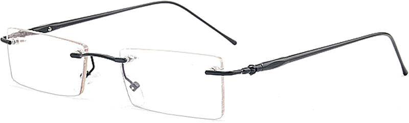 Prescription Glasses Model ASW4010Arl Alloy in Blue