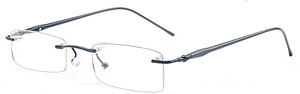 Rimless spectacles are always in fashion  Plus they are