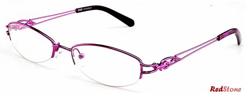 Prescription Glasses Model ASW4003Ahr Metal in Purple