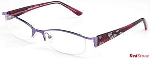 Semi-rimless Spectacles