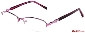 These semi-rimless frames are just perfect for all the