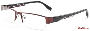 These marvelously modern Red Stone frames for men will make