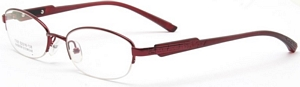 These red frames for women look very strong and solid