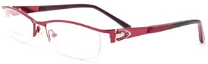These wine red frames are electric They are sure to grab