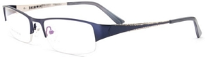 Whether you wear these dark blue coloured frames when you
