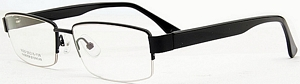 These black colored spectacles are a popular choice anytime