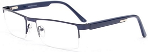 Stand out among boring dull frames in this shiny blue