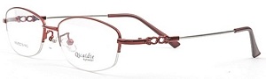 Especially for the Lady In Red is this stunning eyeglasses