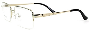 Do you know the great benefit of semi-rimless frames. Well