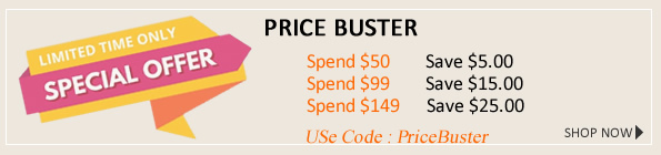 Price Buster -  the more you spend the more you save on Spectacles from AusSpecs