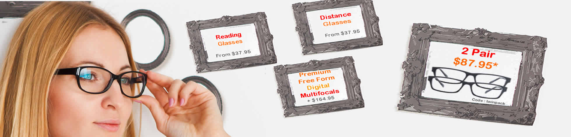 Please be assured that  AusSpecs is the best place to buy your spectacles online at the cheapest prices in Australia*